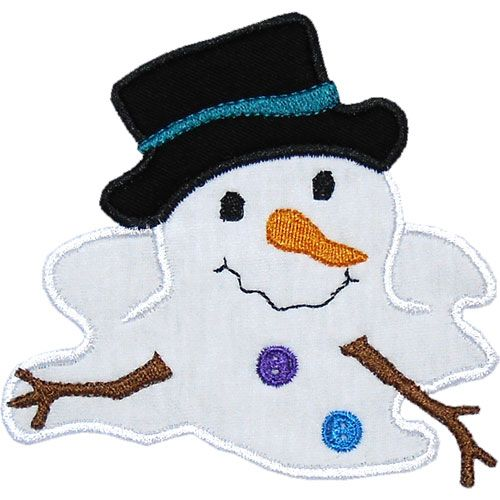 17 Best images about Applique Snowmen on Pinterest.