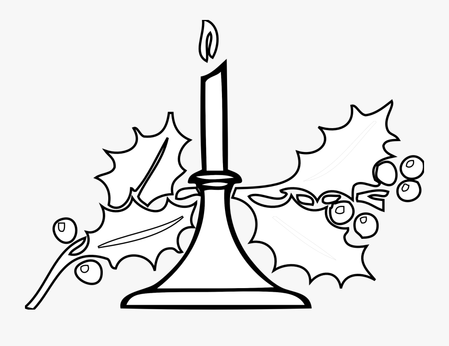 Melting Candle Clipart Flower Drawing.