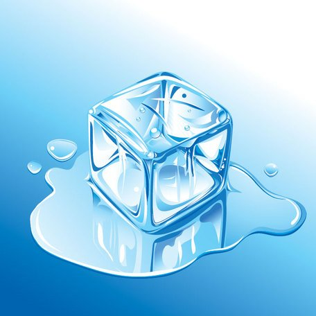 Free Melting Ice Cube Clipart and Vector Graphics.