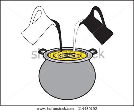 Melting Pot Clipart