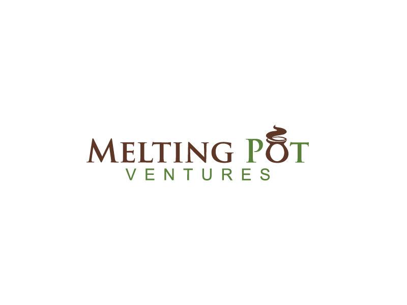 Upmarket, Elegant, Cafe Logo Design for Melting Pot Ventures.