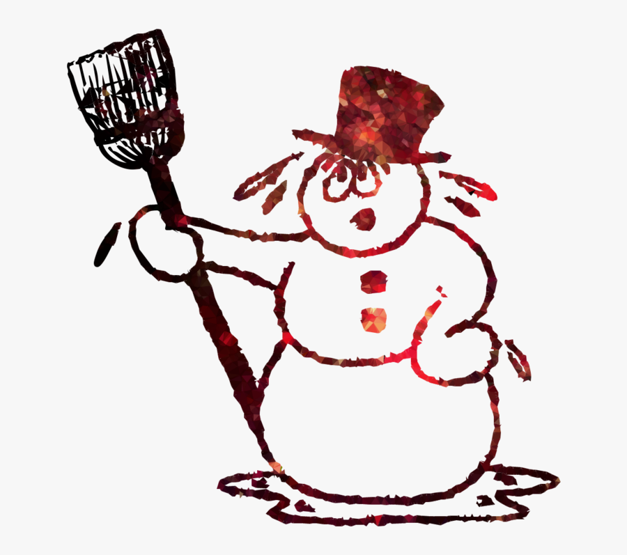 Snowman Clipart Melted.