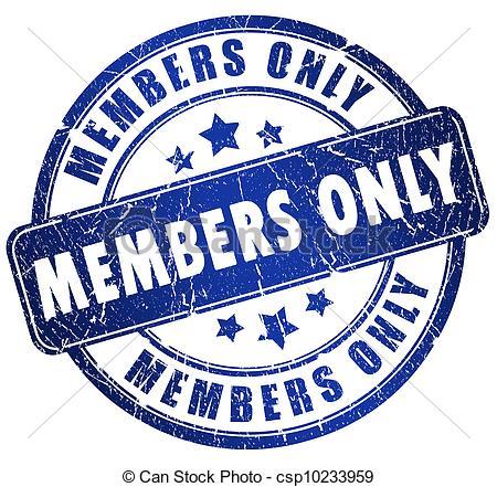 Members Clip Art.