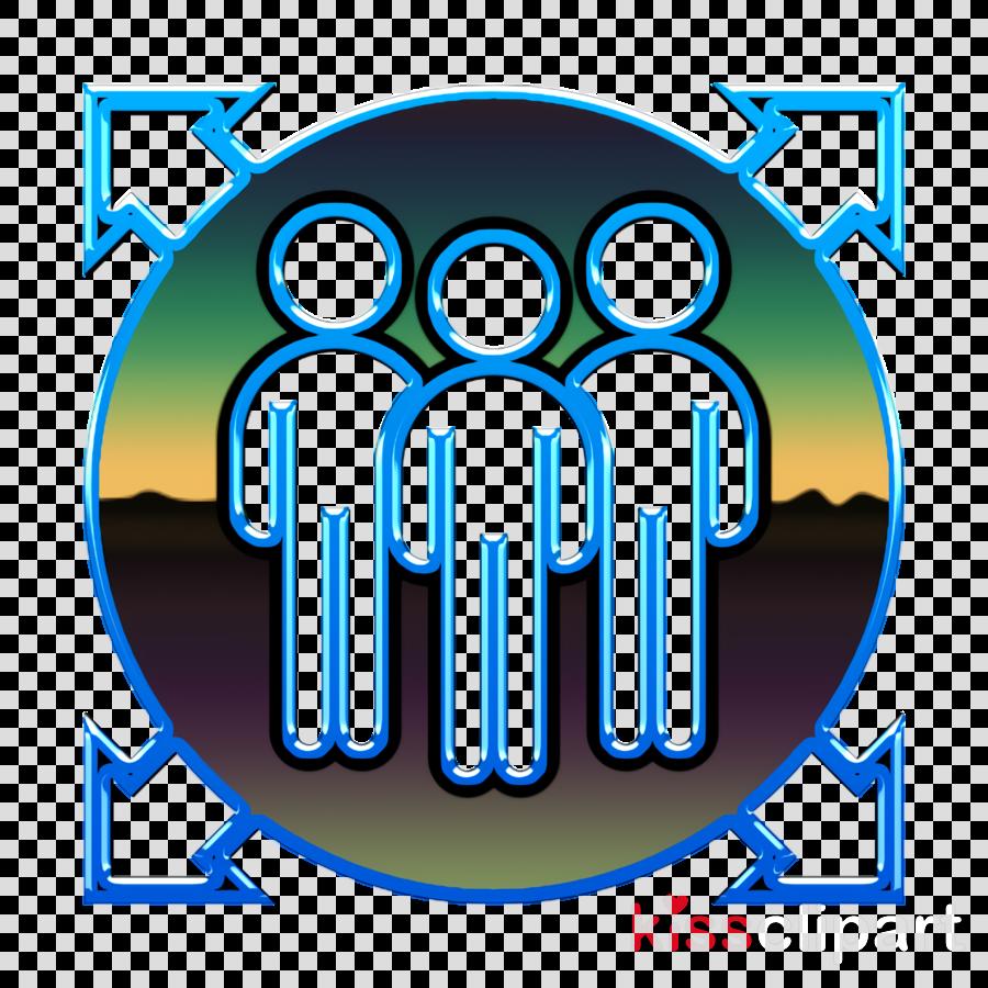 Member icon Team member icon Agile Methodology icon clipart.