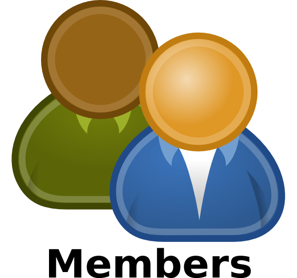 Members Clip Art at Clker.com.