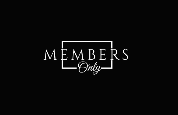 Upmarket, Serious, Vip Logo Design for Members Only by.