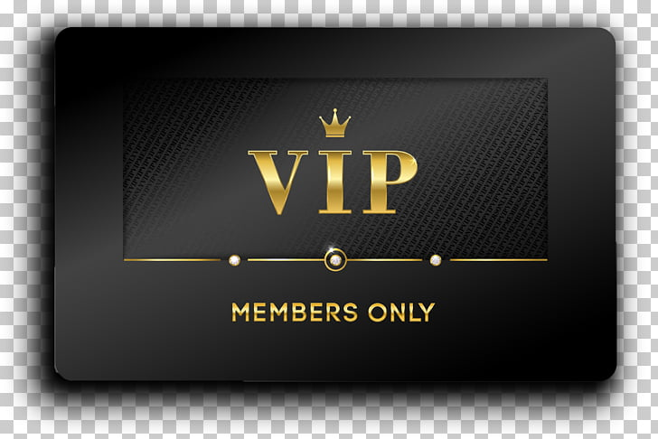 commerce company vip membership card PNG clipart.