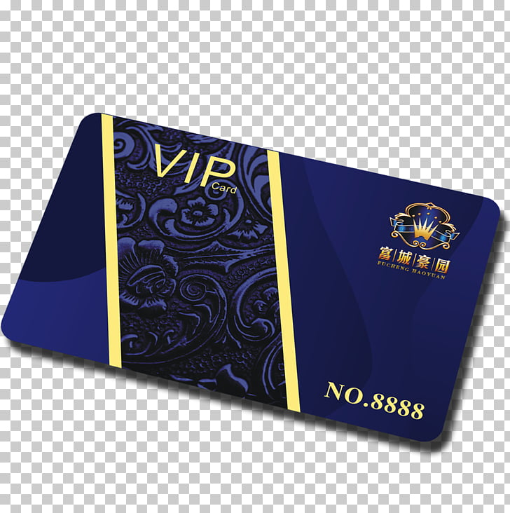 Membership card design PNG clipart.