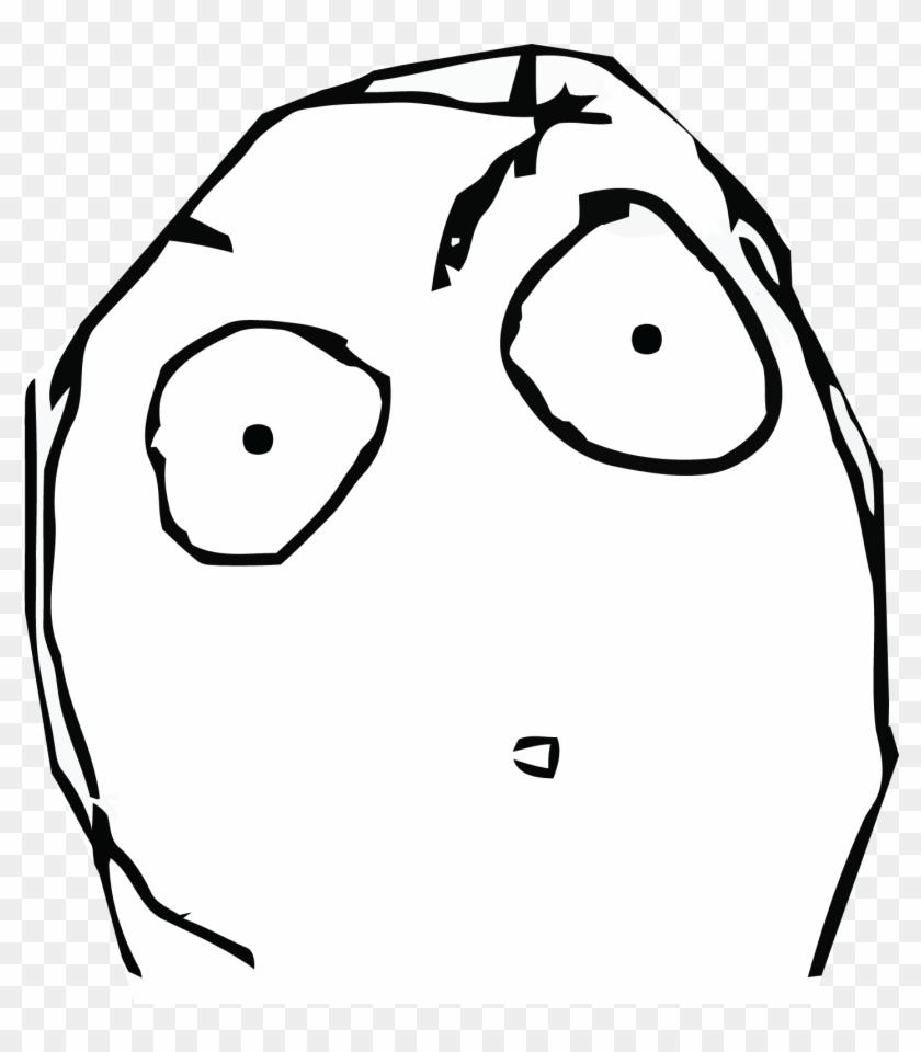Shocked Meme Face, HD Png Download.