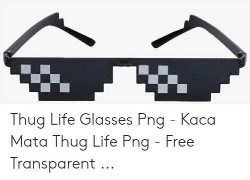 Thug Life Glasses Png.