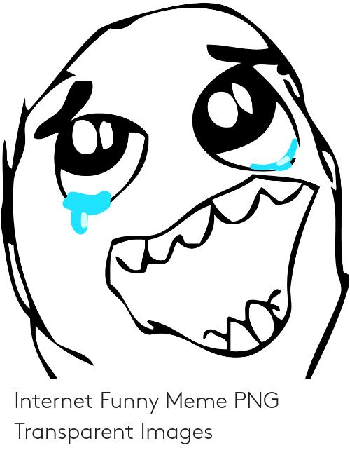 Internet Funny Meme PNG Transparent Images.