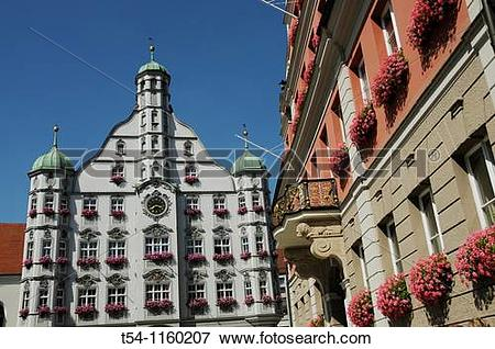 Picture of Historic Town Hall in Memmingen t54.