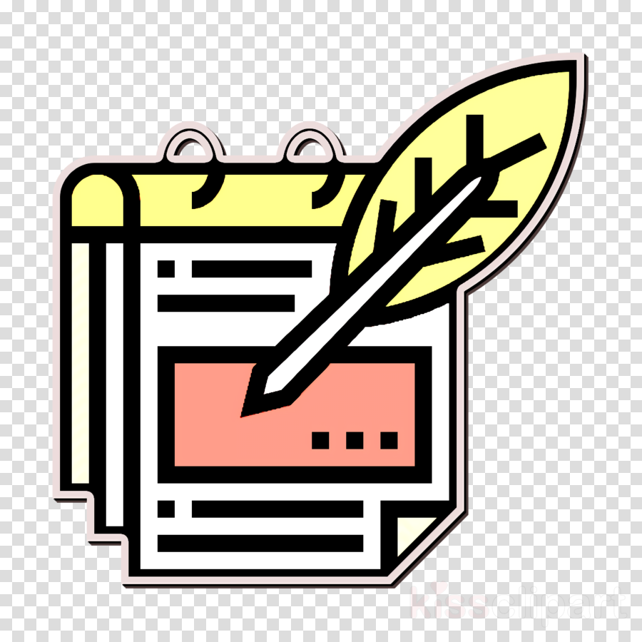 Notes icon Business Essential icon Memo icon clipart.