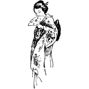 Geisha Clipart.