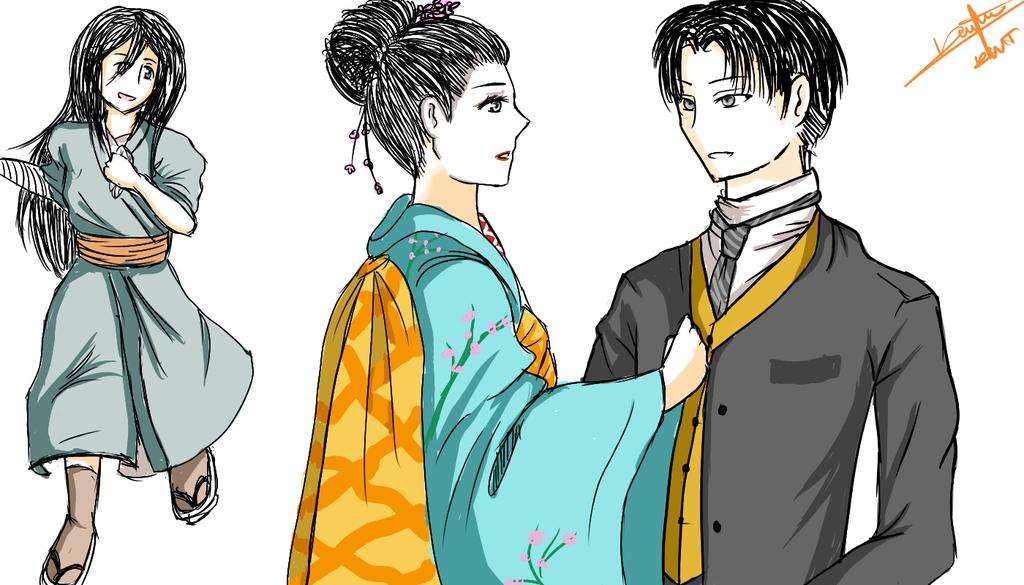 Rikasa Memoirs Of A Geisha AU by IxchelCosmicLovee on DeviantArt.