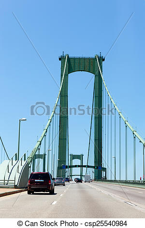 Pictures of Delaware Memorial bridge New Castle.