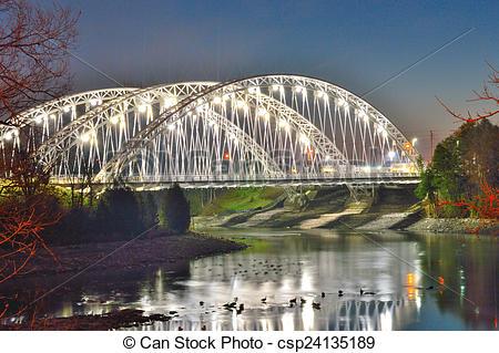 Pictures of Vimy Memorial Bridge.