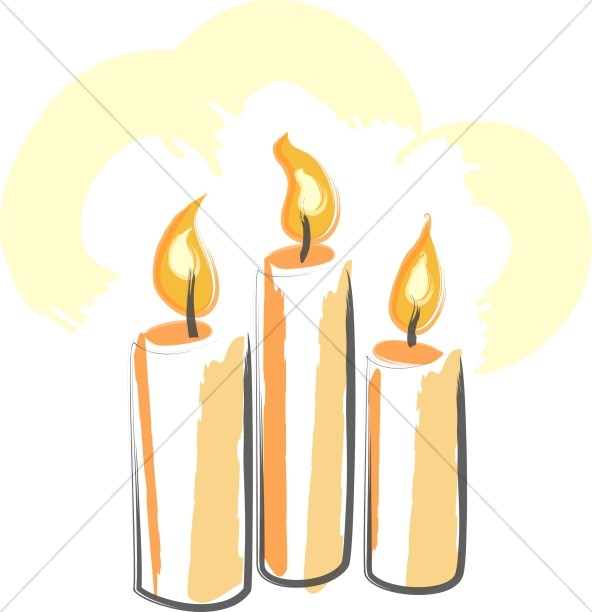 Candles clipart memorial candle, Candles memorial candle.
