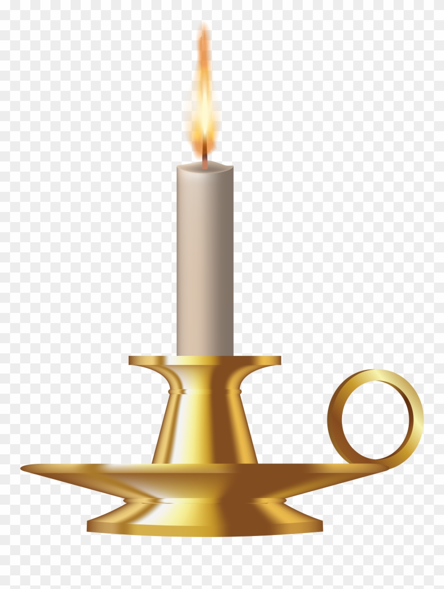 Funeral Clipart Memorial Candle.