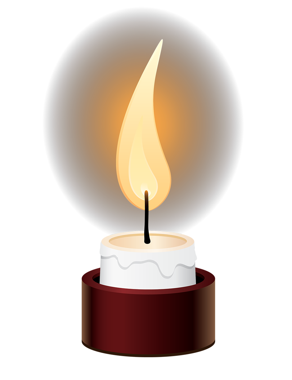 Clipart candle memorial candle, Clipart candle memorial.