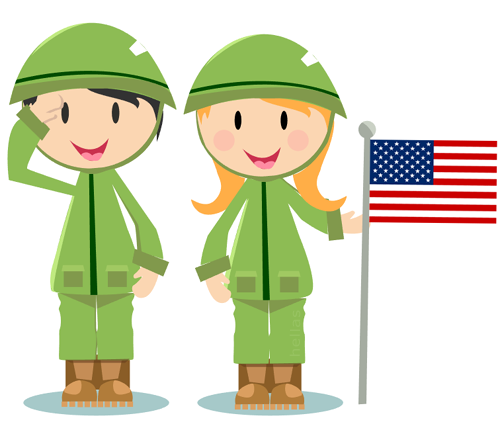 ▷ 18 Free Memorial Day and Patriotic Clipart Graphics.