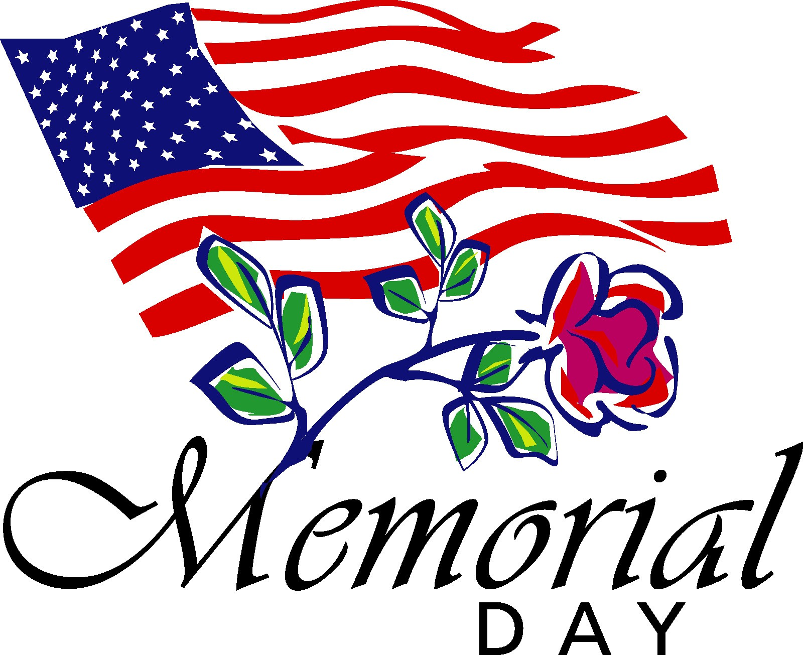 Memorial Day Clipart.