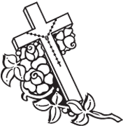 Memorial Cross Clipart.