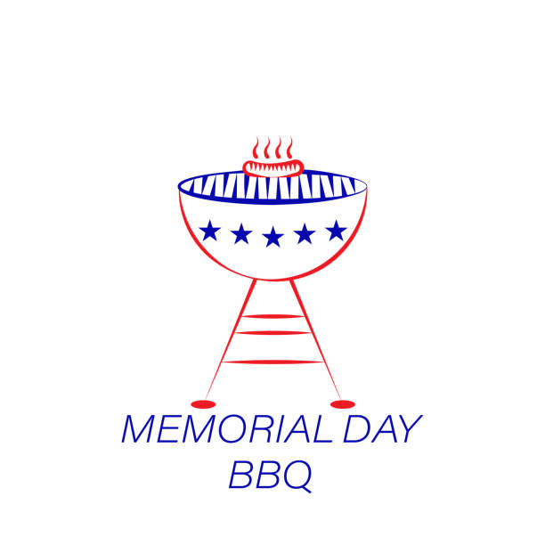 Best Memorial Day Bbq Illustrations, Royalty.