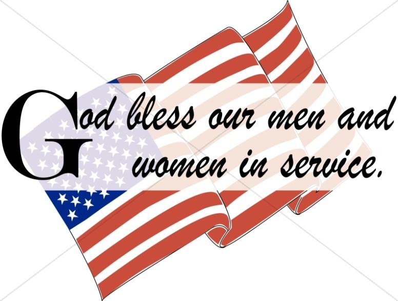 Veterans Day Christian Clipart.