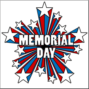 Memorial Day Honor and Remember ClipArt.