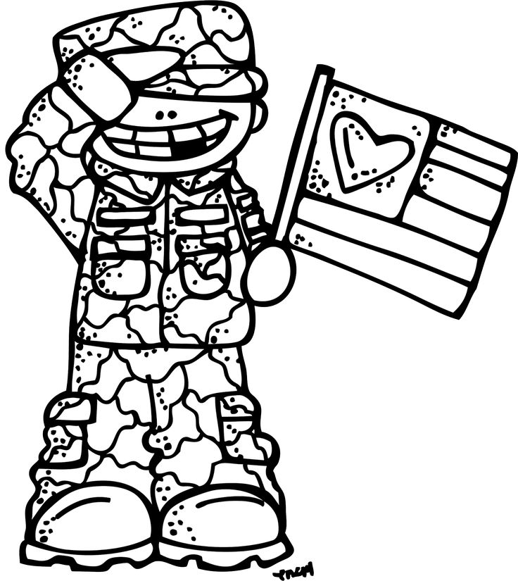 Memorial Day Clipart Black And White.