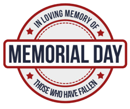 Happy Memorial Day Clipart.