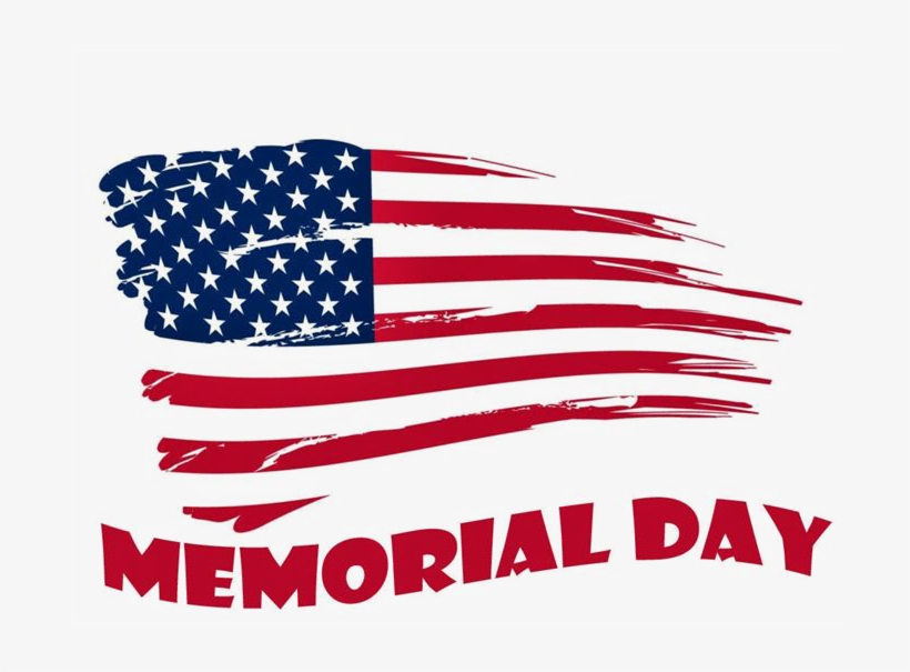 Memorial Day Free Png Image.