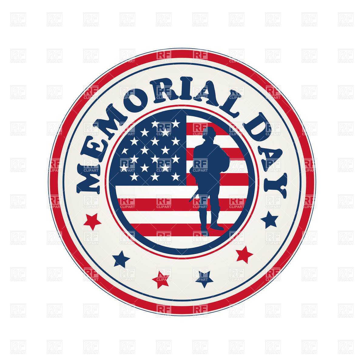Memorial Day Clipart Png.