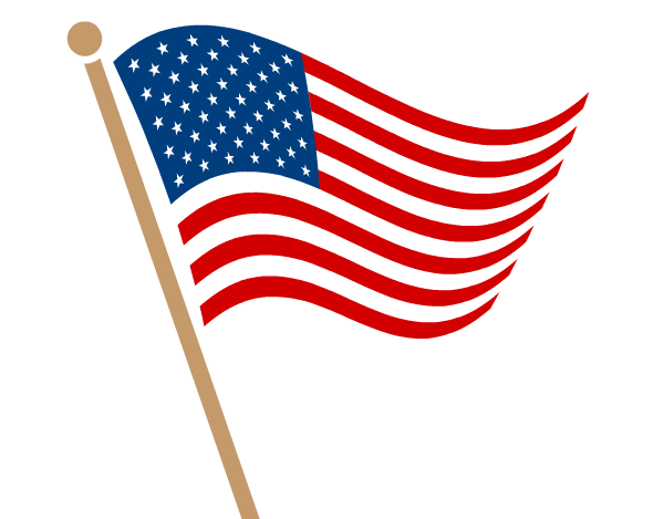 Flag Day 2019 clipart.