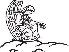 Headstone Memorial Clip Art.