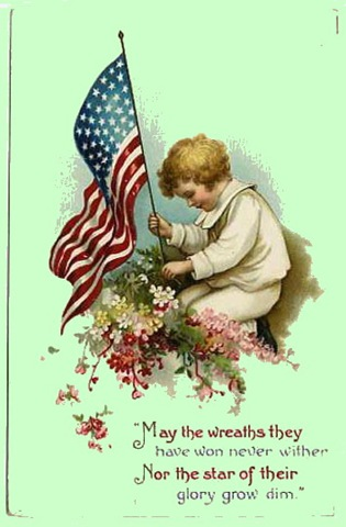 Memorial Day Holiday Clip Art.