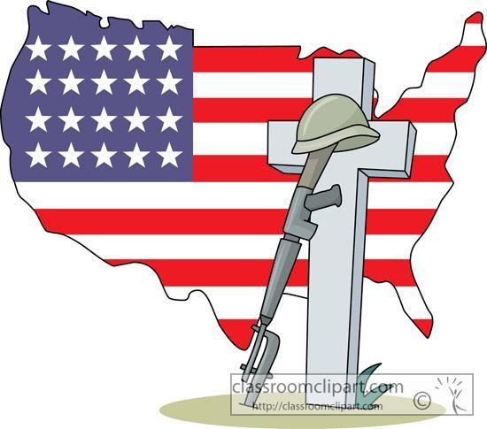 Memorial Day Clipart Fallen Soldier.