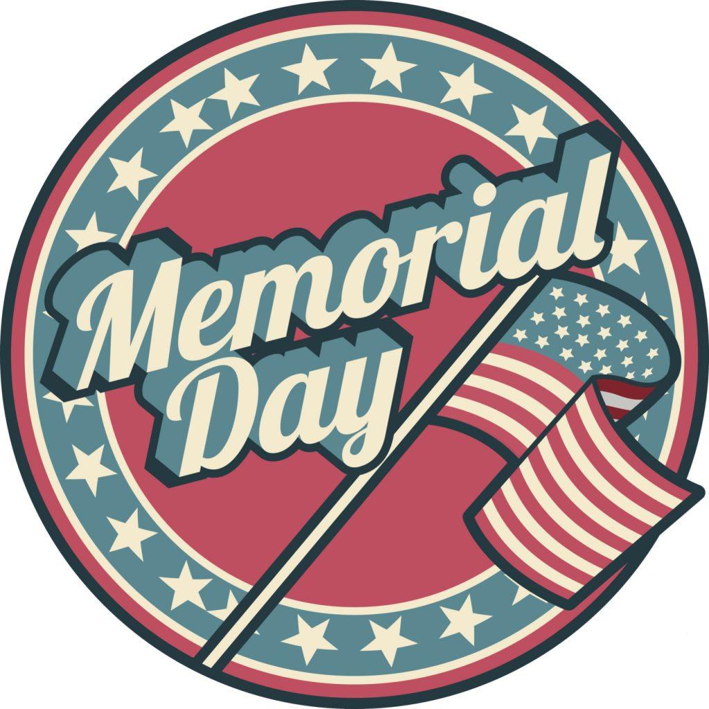 Memorial Day Logo.