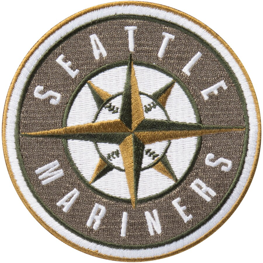 Seattle Mariners MLB 2018 Memorial Day USMC Logo Patch.