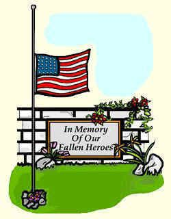Memorial day clip art images on god bless america american.