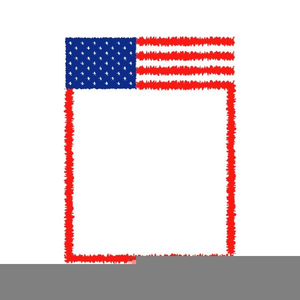 Memorial Day Clipart Lines.