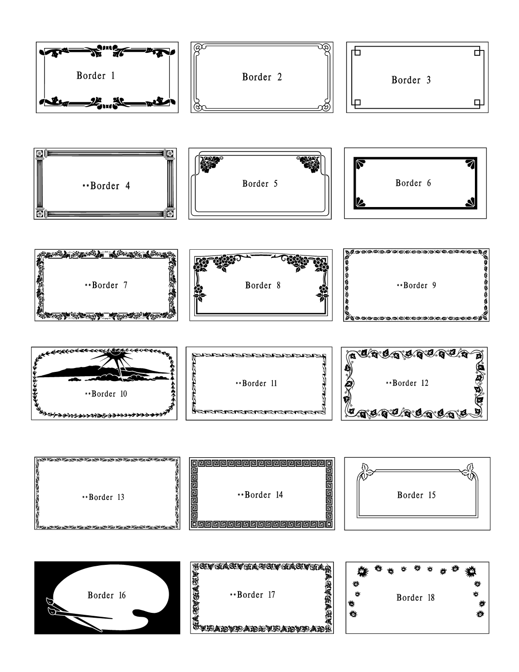 Grave Markers Clipart.