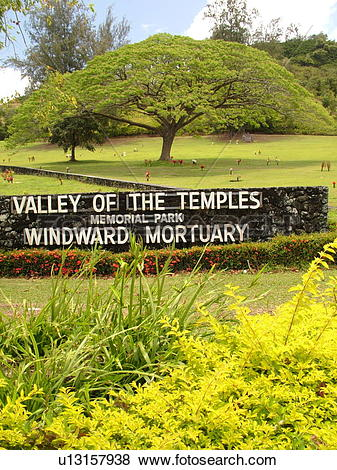 Pictures of Kaneohe, Oahu, HI, Hawaii, Valley of the Temples.