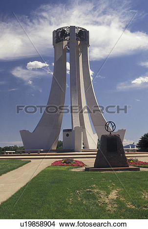 Stock Photo of war memorial, Colorado Springs, CO, Colorado.