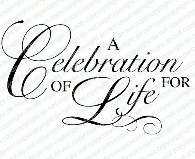 free celebration of life templates