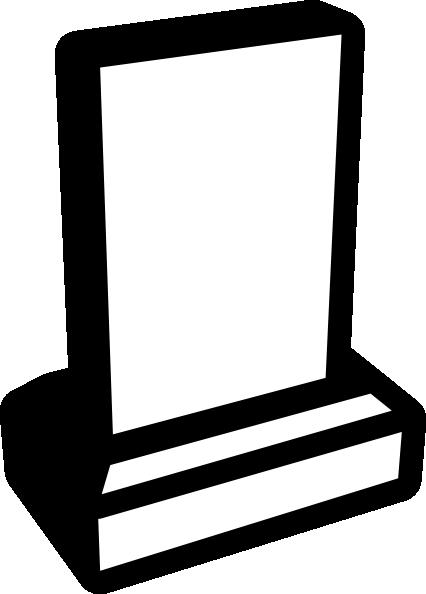Memorial Grave Sign Clip Art at Clker.com.