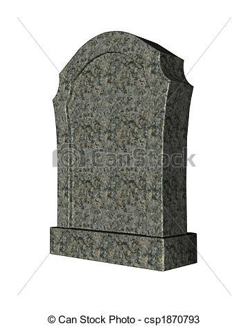 Drawings of gravestone.