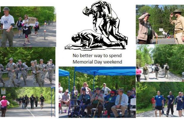 3rd Annual Chesapeake Bataan Death March Memorial Walk.