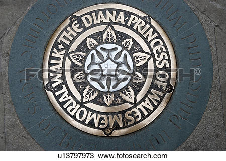 Stock Photo of England, London, Westminster, Pavement plaque.